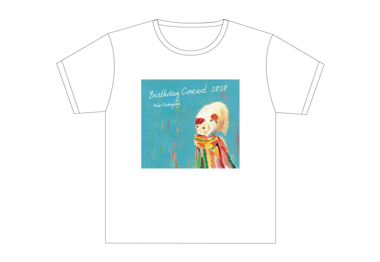 MIHO NAKAYAMA BIRTHDAY CONCERT Tシャツ(ヨーナ)